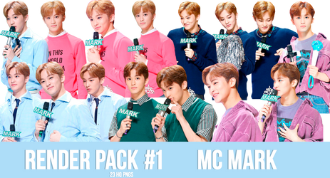 NCT Mark (Render Pack #1) by txzico