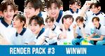 Render Pack #3 NCT WinWin