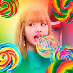 Candygirl- Lisa BLACKPINK by txzico
