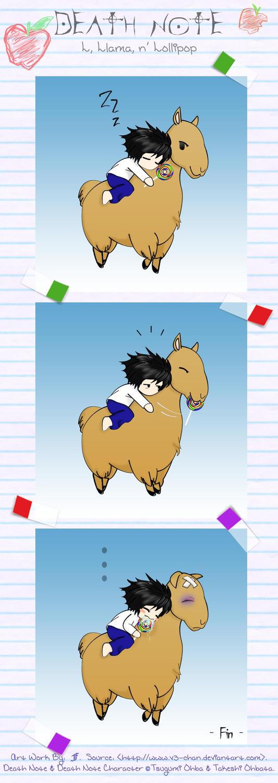Between-L-Llama-Lollipop by v3-chan