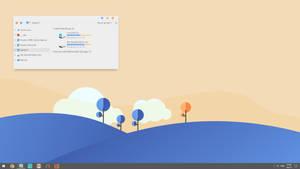 Simplify 10 Orange Blue Gray Screenshot