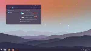 Simplify 10 Dark Purple Dark Mode Screenshot