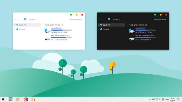 Simplify 10 Vanilla Macish Screenshot