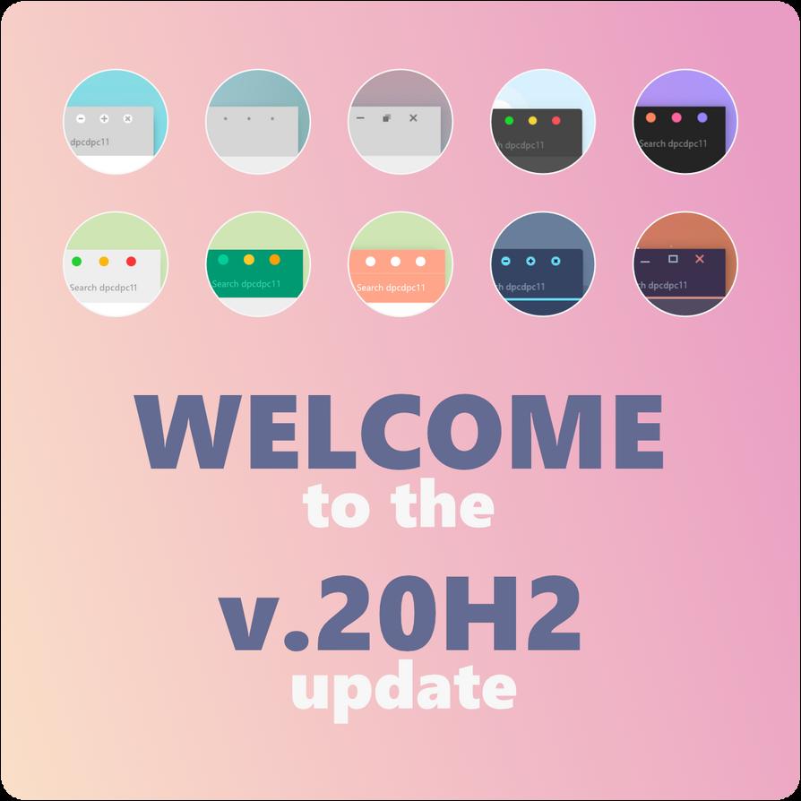 2020 October Update