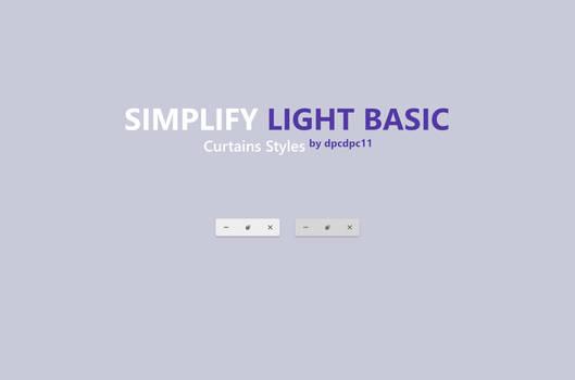 Simplify Light Basic - Curtains Styles