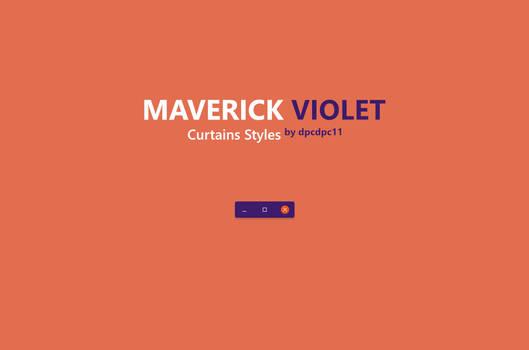 Maverick Violet - Curtains Styles