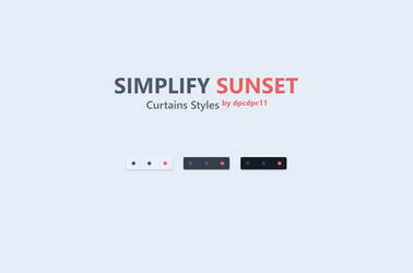 Simplify Sunset - Curtains Styles