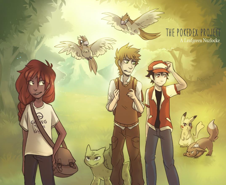 The Pokédex Project: A Leafgreen Nuzloce comic