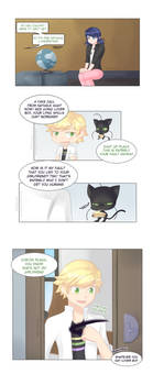 If Adrien finds out first (part 6)