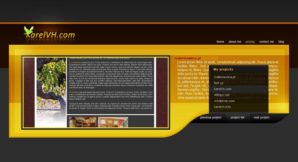 Karelvh.com -- My portfolio by Tyr4nT