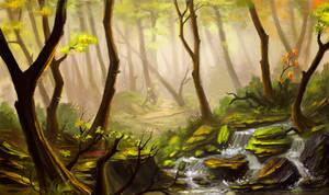 Forest by lepyoshka