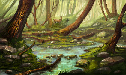 New forest by lepyoshka