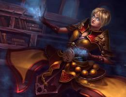 Diablo 3 Reaper of Souls - Monk by lepyoshka