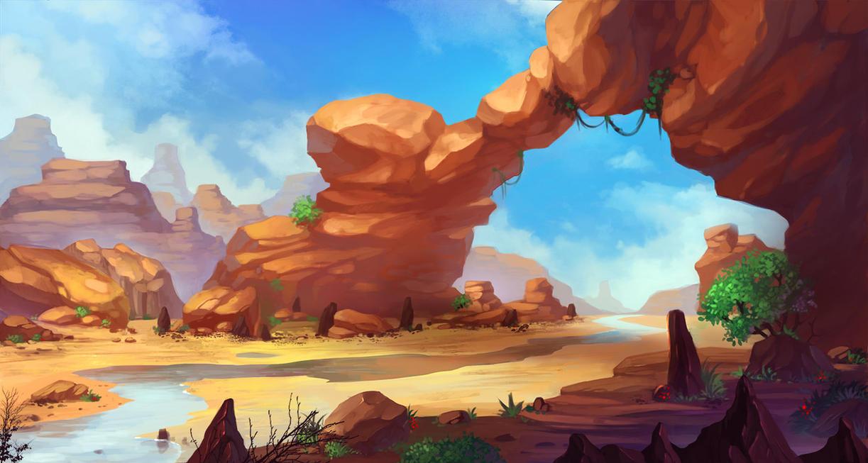 desert by lepyoshka