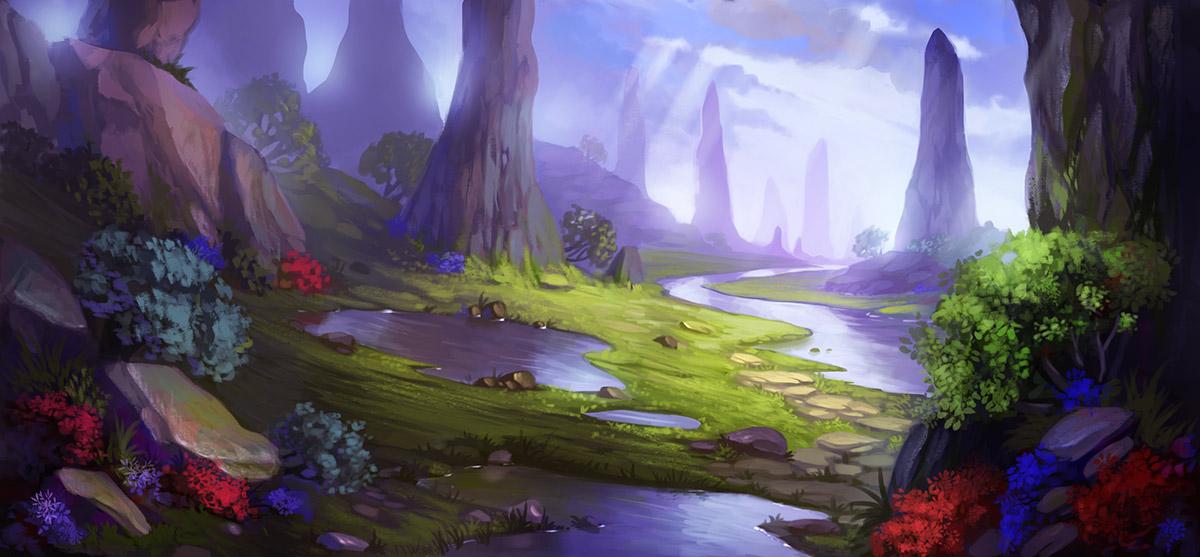 Mystic valley by lepyoshka
