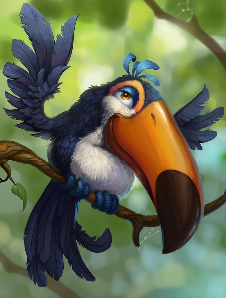toucan by lepyoshka