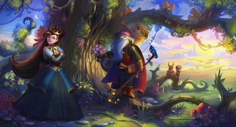 Princess and mage