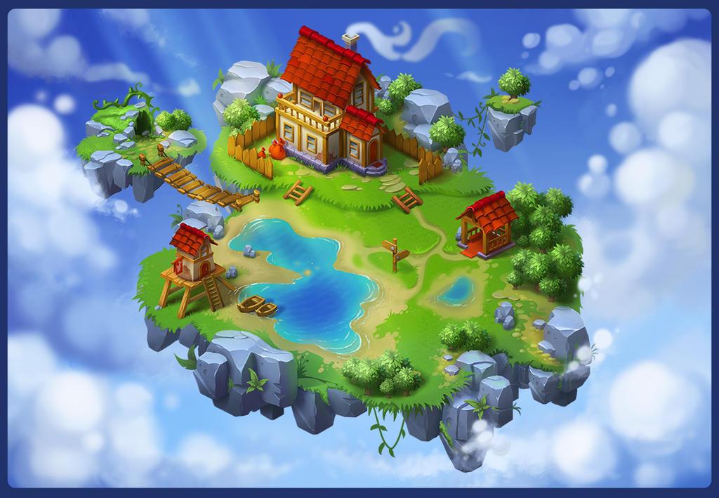 Island by lepyoshka