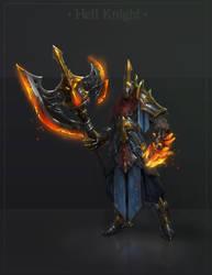 Hell Knight by lepyoshka