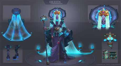 Queen by lepyoshka