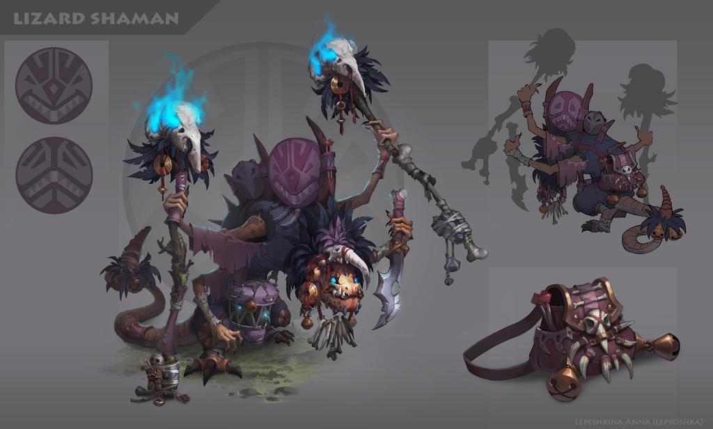 shaman by lepyoshka