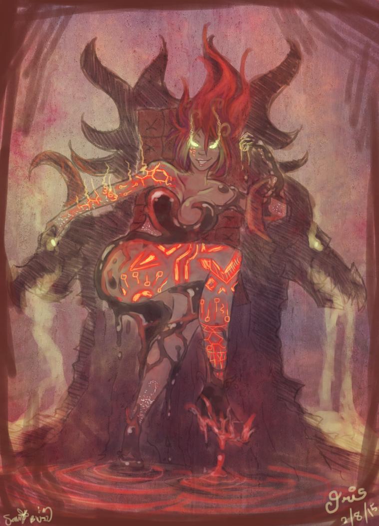 Nightmare Goddess by Tust