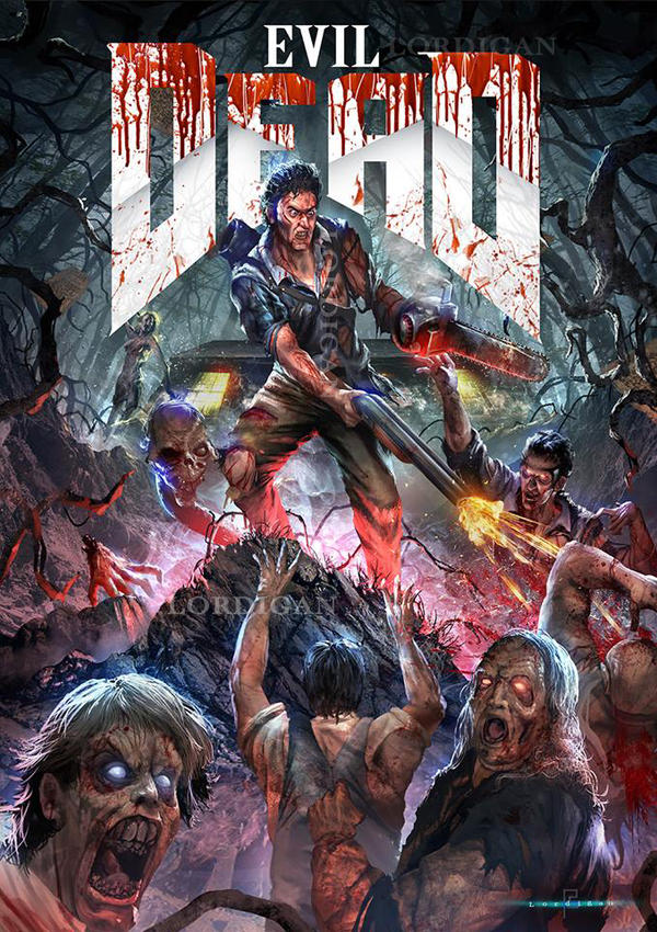 Evil Dead by Lordigan