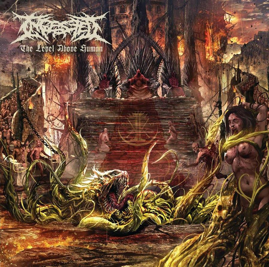 INGESTED Album Artwork by Lordigan