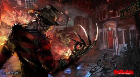 Freddy krueger by Lordigan