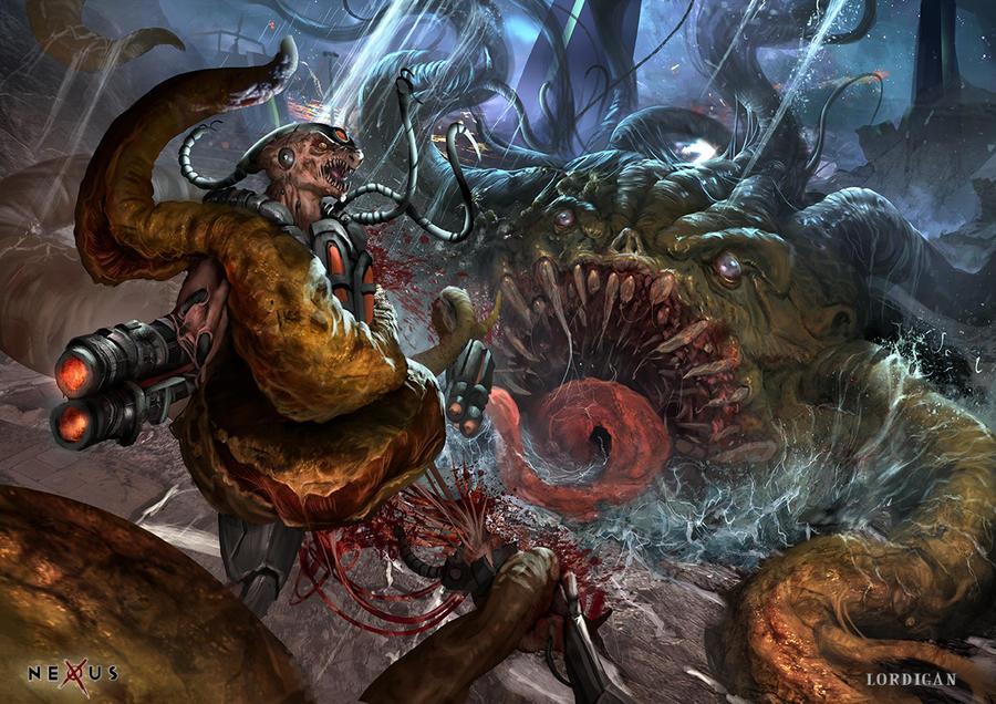 Nexus- Creature Pit by Lordigan