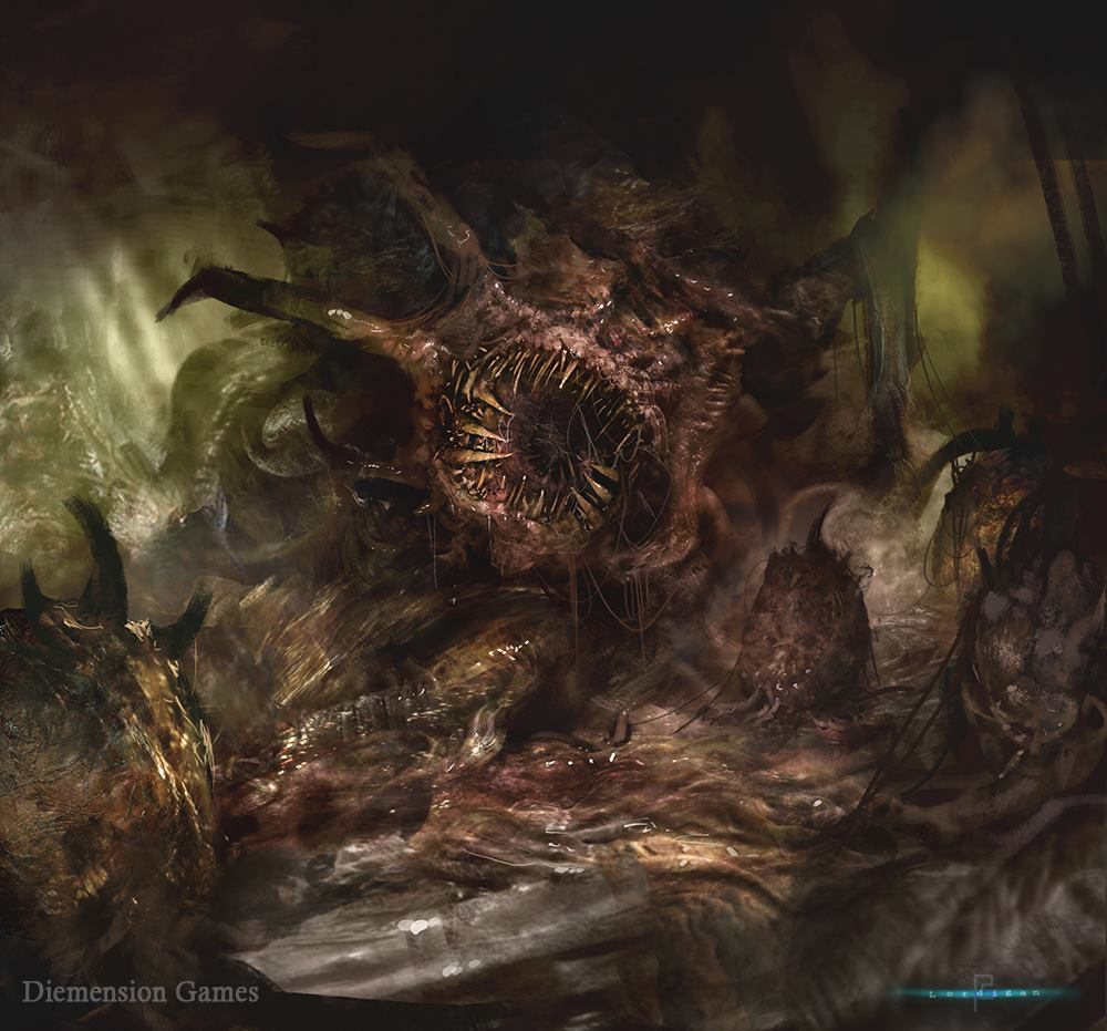 Insidious Monster By Lordigan On Deviantart