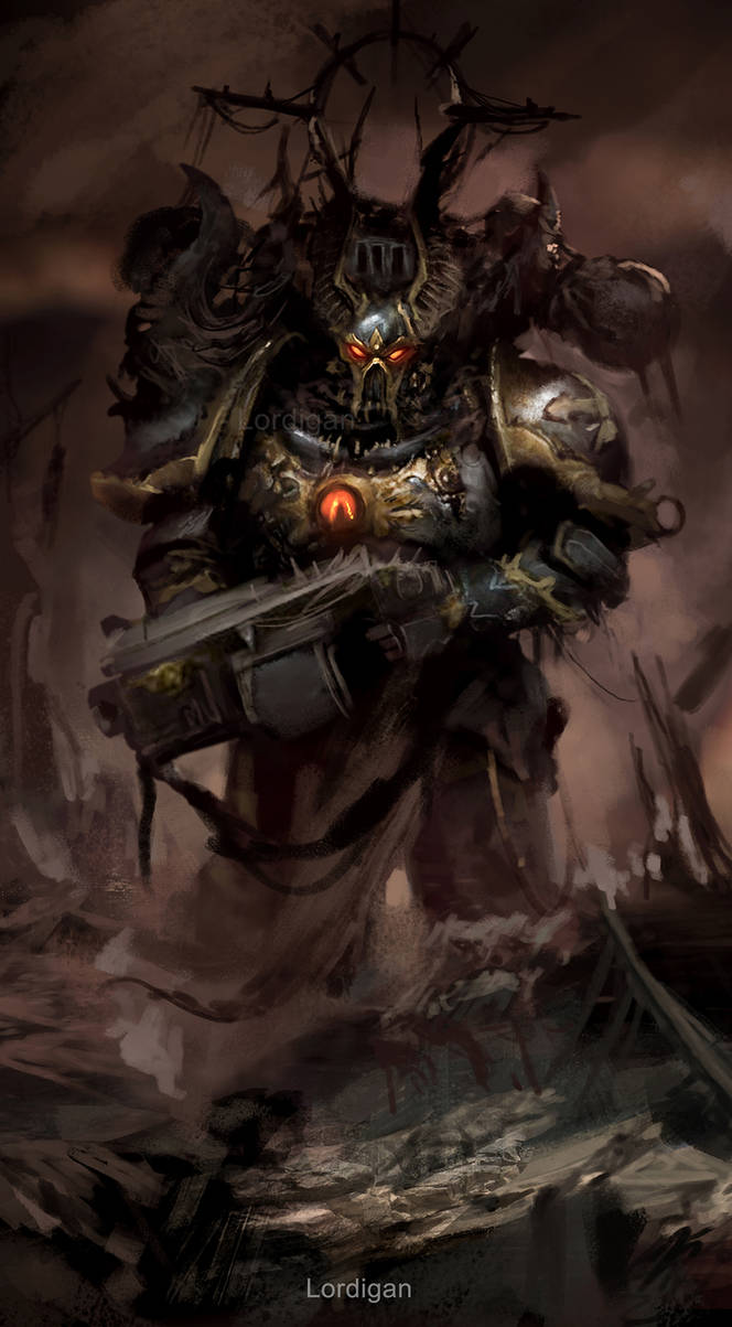 Chaos Space Marine Chosen by Lordigan
