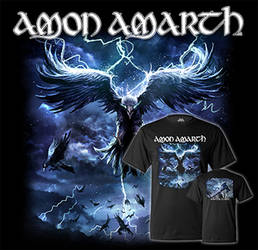 Amon Amarth Raven's Flight by Lordigan
