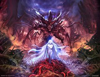 Brand of Sacrifice by Lordigan