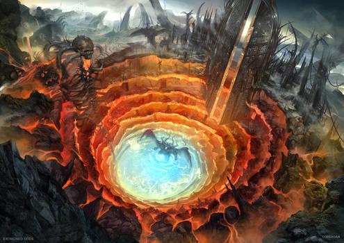 Exorcised Gods  Dantes inferno