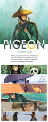 Pigeon: A Whispering World by judaru