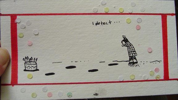 a corny birthday card.. by raindead