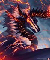 Fiery Lightning