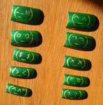 Emoticon Nail Art Set