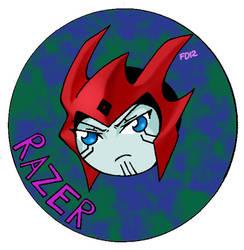 Razer Sticker by kitsunesama7