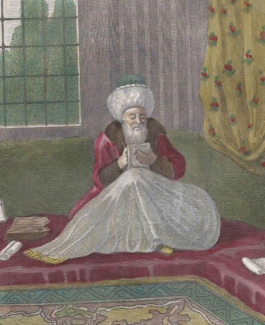 An Ottoman Official, Reis Effendi