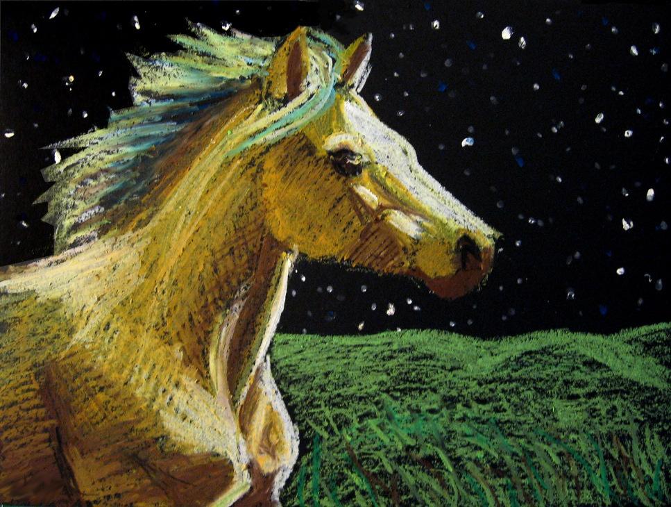 His Starry Night by Valkeus