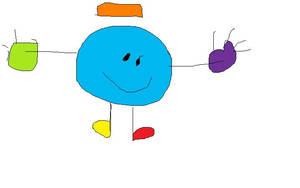Mr Blue by wackyluke0321
