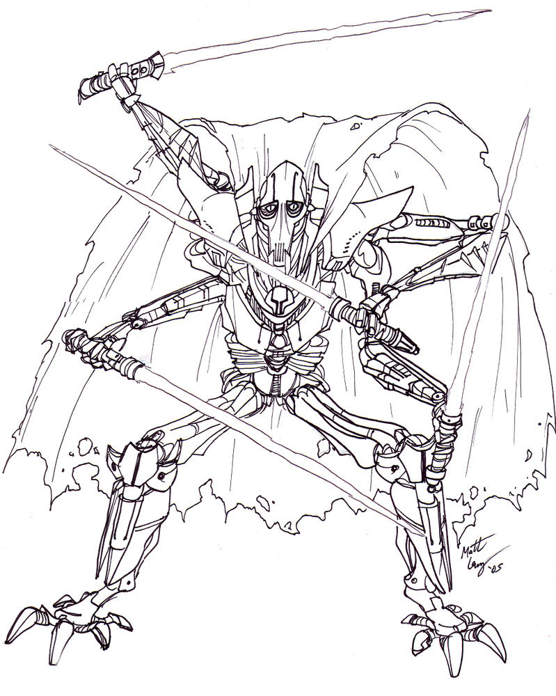 General Grievous by DudeItsMattLevy