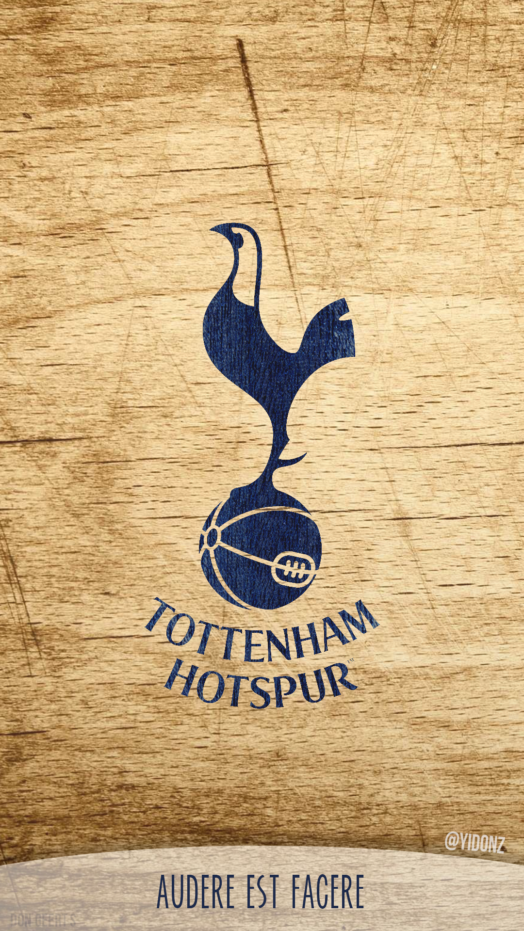Tottenham Hotspur Logo Wallpaper For Phones By Donioli On Deviantart