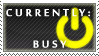 Status Stamp: Busy