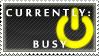 Status Stamp: Busy by Reixxie