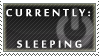 Status Stamp: Sleeping by Reixxie