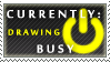 Status Stamp: Busy - Drawing by Reixxie