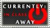 Status Stamp: Away - In Class by Reixxie